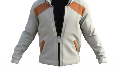 Jacket-Marvelous Designer - CLO3d Projects+ OBJ