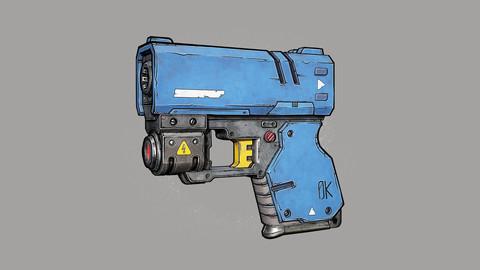 compactgun (3d model)