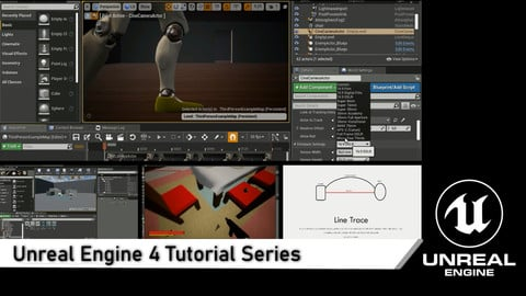 Unreal Engine 4 Tutorial Beginner Series - Easy Start