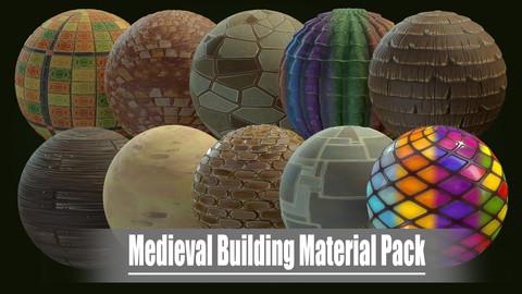 Medieval Building Material Pack