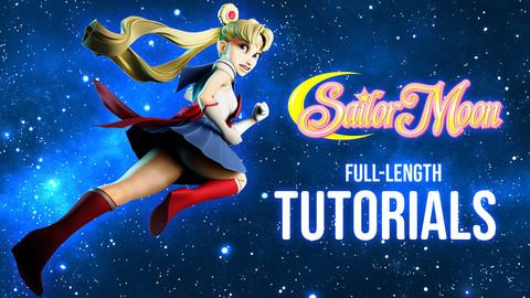 Sailor Moon Creation Tutorial Process