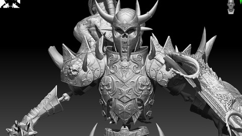 Sekeleton Heavy Warrior