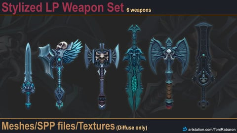 Stylized LP Weapon Set