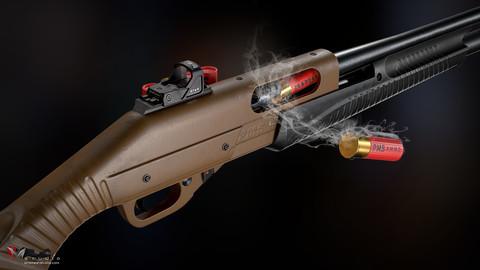 PMS M12 Shotgun