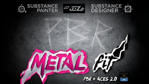 PBR MetalFit for the Substance Suite