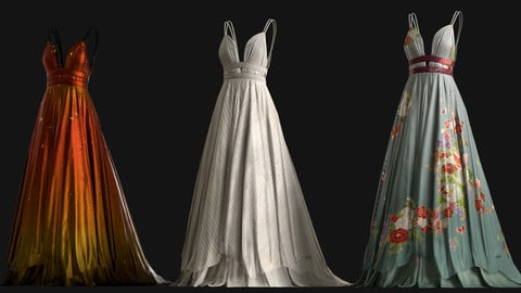 Venus Gown | Real-time