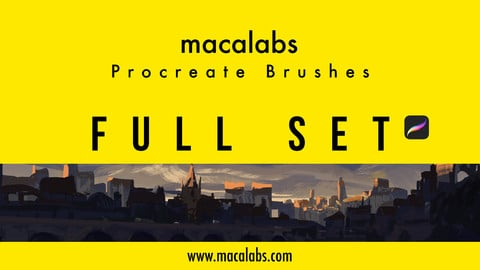 MACALABS_FullSet. Procreate Brushpack