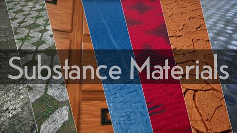 7 Substance Designer Materials