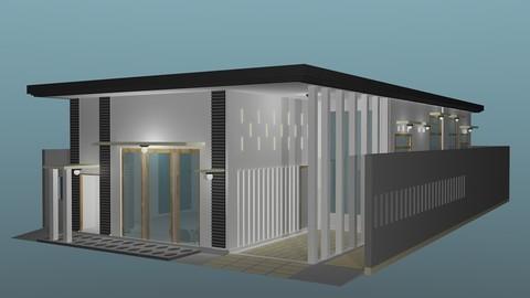 Minimalis house concept