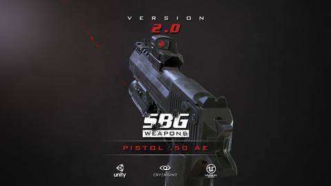 SBG Pistol .50 AE