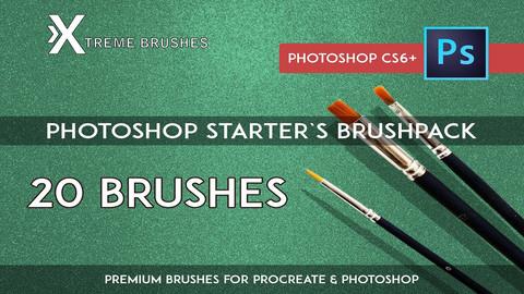 Photoshop Starter's Brushpack