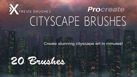 Procreate Cityscape Brushes