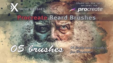 Procreate Beard Brushes