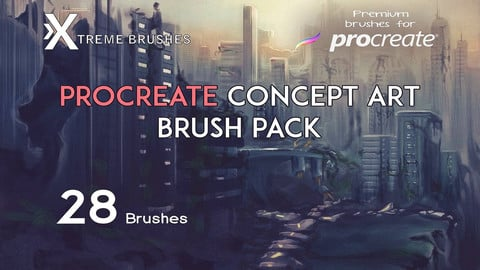 Procreate Concept Art Brushes