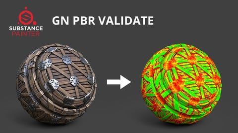 [Substance Painter] GN PBR Validate