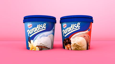 Let's eat ice cream