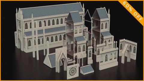 Medieval Catedral Kitbash