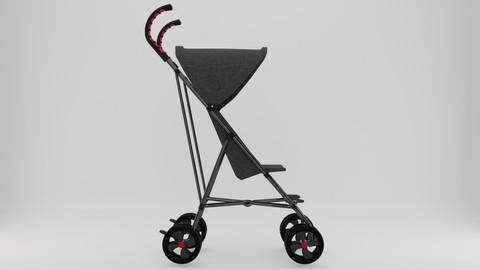 Stroller 3D Model