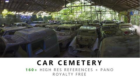 Car cemetery Texture PACK