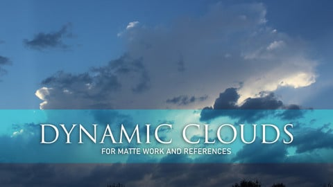 DYNAMIC CLOUDS FOR REFERENCE AND MATTEWORK SET 1