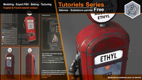 Tutorials Series Max and Substance Painter