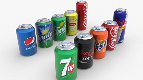 Soda Cans - PBR