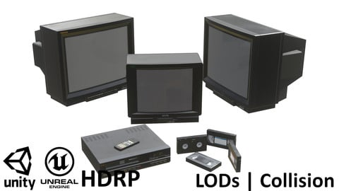 90s TVs and VHS Collection