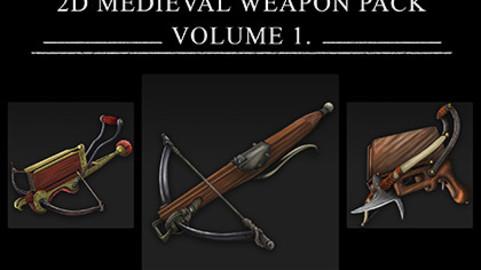 2D Medieval Weapons Vol.1
