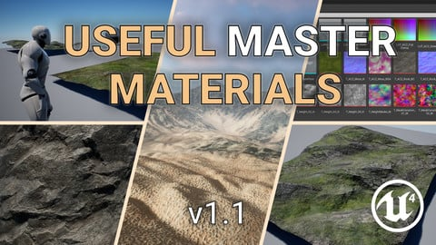 Unreal Engine – Useful Master Materials V1.1