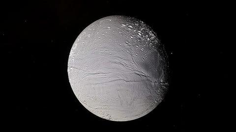 Enceladus - Saturn Moon
