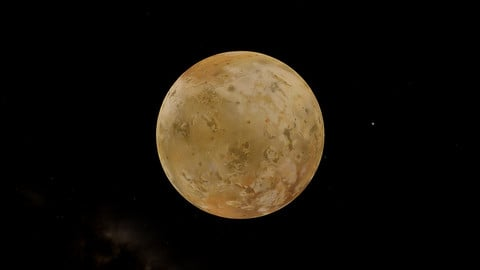 IO - Jupiter's Moon Free texture Pack