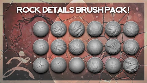 Rocks Details Brush Pack - 32 Brushes!