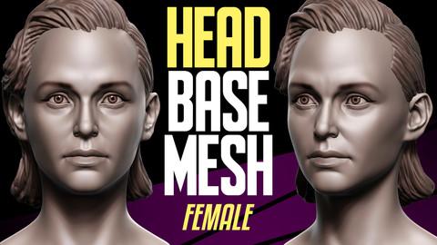 Head Basemesh Female