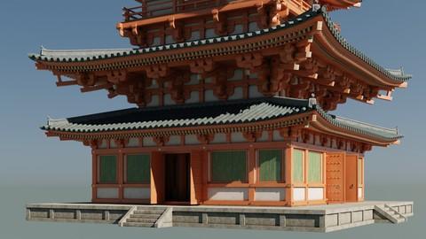Japanese Modular Pagoda