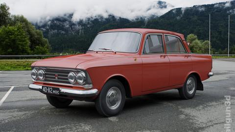 MZMA Moskvitch-408 E 1964