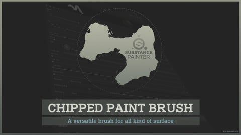 Texturing Essentials for Free - Chipped paint (Substance Painter)