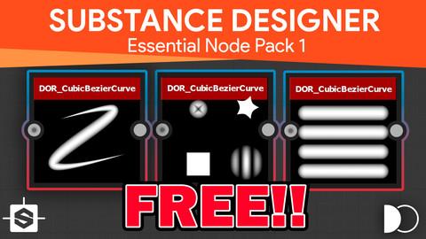 DOR Essential Node Pack   Substance Designer
