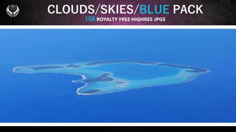 CLOUDS/SKIES/BLUE PACK