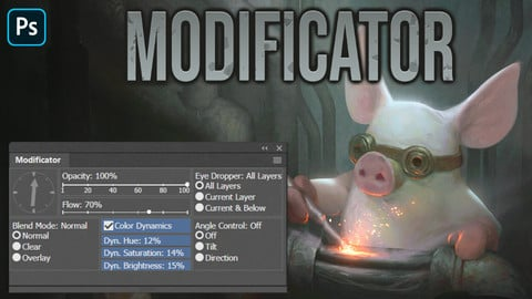 Modificator for Photoshop