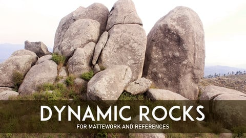 Rocks For Mattepaintings and References.