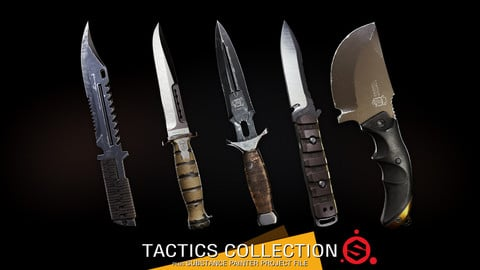 Tactics Collection + Substance Project File