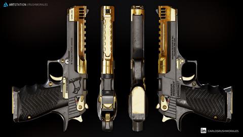 Desert Eagle L5 Gold Premium