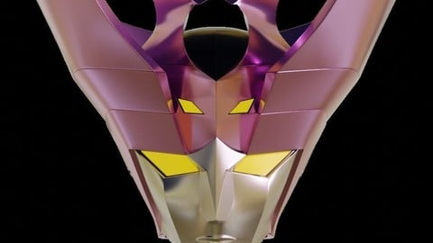 Minerva A Wearable Head - Mazinger Angels 3D print model