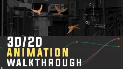 Crossing train Animation walkthrough