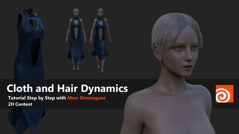 Cloth and Hair Dynamics