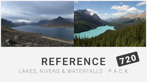 Reference: Lakes, Rivers and Waterfalls Pack 720