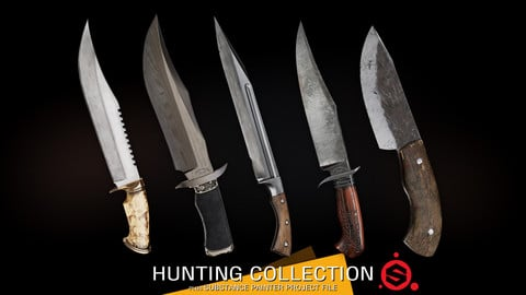 Hunting Collection + Substance Project File