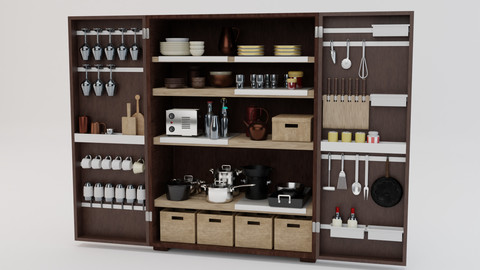 Kitchen Tool 3D Model