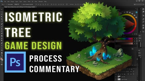 Isometric Tree Tutorial for Game Design