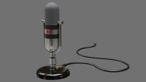Retro Microphone 1A